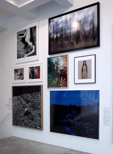 Lens Drawings at Marian Goodman, 2013